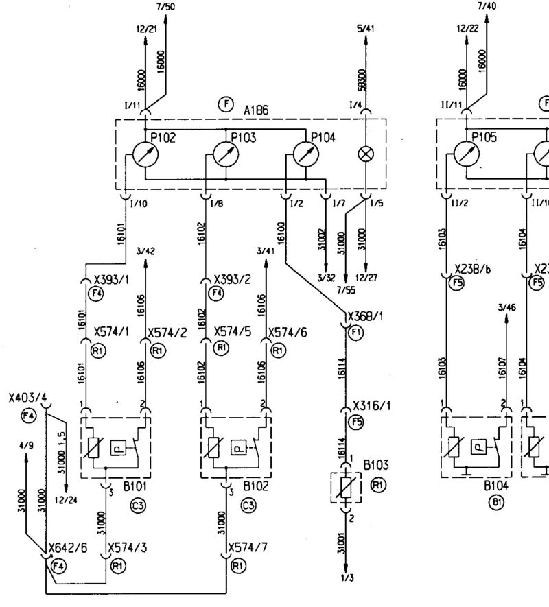 фрагмент электрической схемы