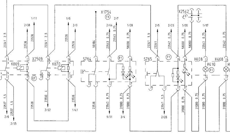 Электрическая man схема